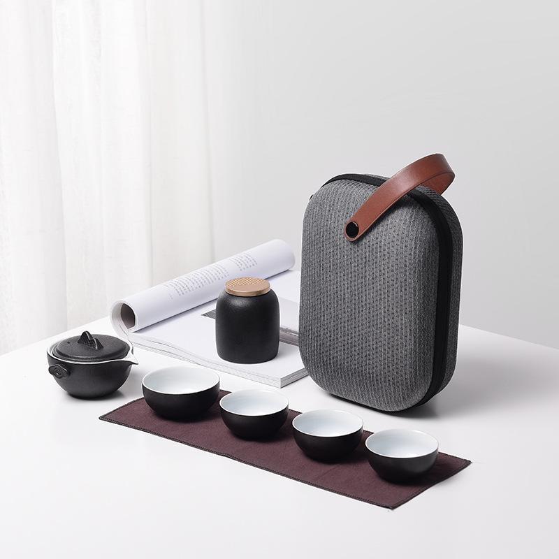 Ensemble de thé en argile pourpre en céramique Portable Kung Fu Pot Gaiwan théière de service tasse à thé chinois Drinkware ensembles de thé de haute qualité