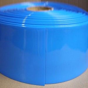 Rurki termokurczliwe PVC szerokość 350mm średnica 220mm (na baterie Wrap)-1/3 metrów