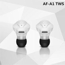 Gêmeos AF-A1 Verdadeiro TWS V4.2 Duplo Sem Fio Fones De Ouvido Mini Bluetooth fones de ouvido Estéreo música Esportes fone de Ouvido para IPhone Samsung Xiaomi