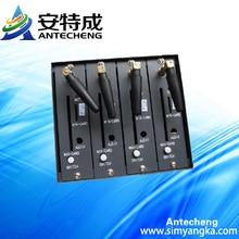 Мини 4 портов wavecom q2406 gsm gprs модем с tcp/ip и набор команд at