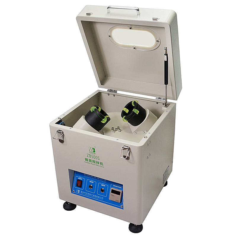 220 V ZB500S soudure automatique pâte mélangeur étain crème mélangeur 500g-1000g SMT équipement pour assemblage de PCB