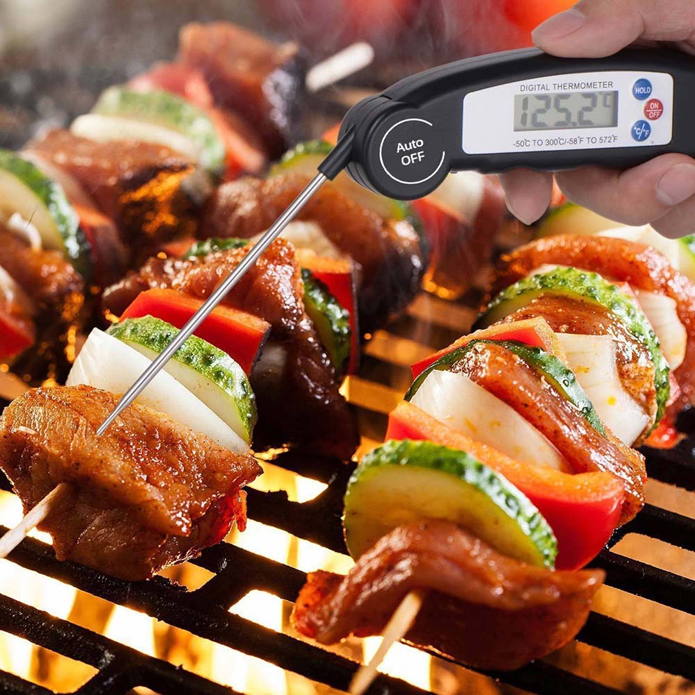 Image 5 - Digital Food Thermometer Probe Meat Grill BBQ Food Cooking Instant Read Kitchen Tools E2S-in Temperature Gauges from Home & Garden