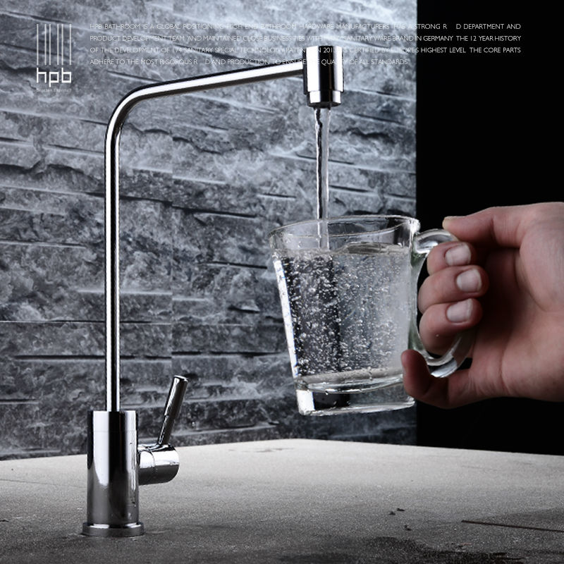 HPB Brass Lead free Cold Water Kitchen Faucet Drinking Water Filter Tap purified Water Spout Tap
