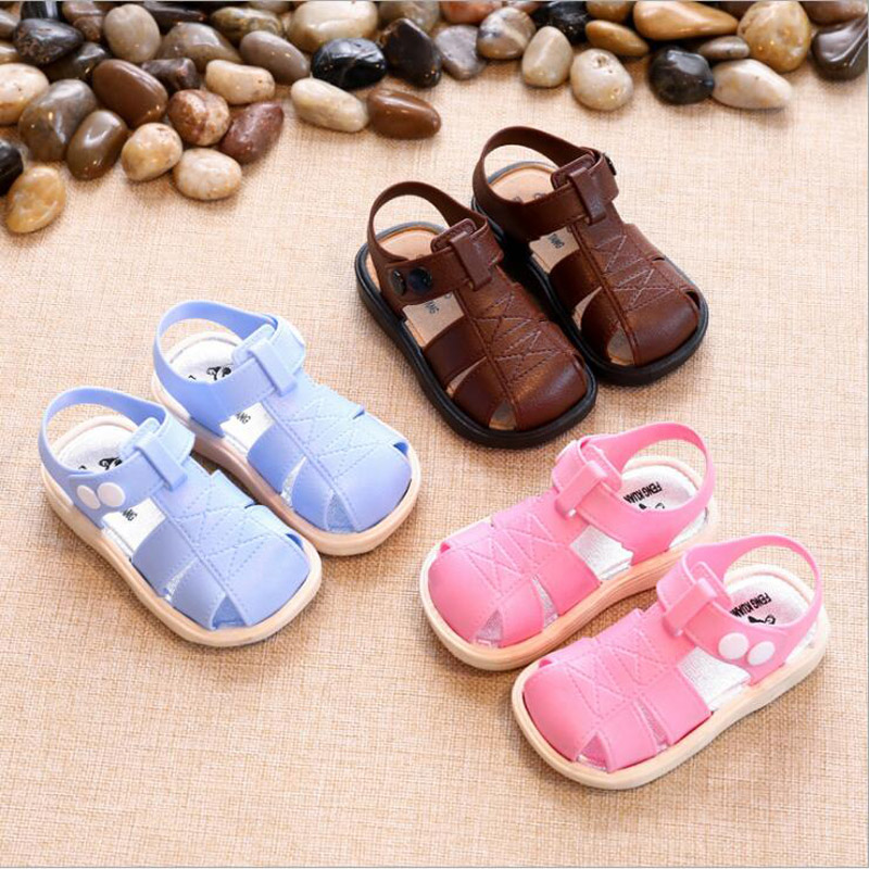 Baby Soft Shoes Boys Sandals 2018 New