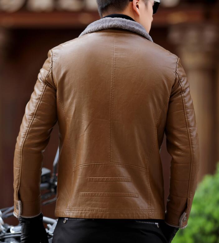 Manteau 3xl Hommes Bref marron Mode Sa Chaude Paragraphe L Moralité champagne 2019 Printemps De L'intégration Noir Cultiver Fourrure Nouvelle 354jqRLA