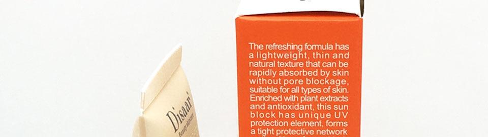 Disaar солнцезащитный крем для тела, отбеливающий крем, солнцезащитный крем для кожи, против старения, контроль жирности, увлажняющий крем SPF 50 для кожи лица