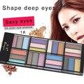 Profissional 24 cores na paleta moda sombra de olho make up eyeshadow luz natural cosméticos set makeup palette ferramenta hot venda