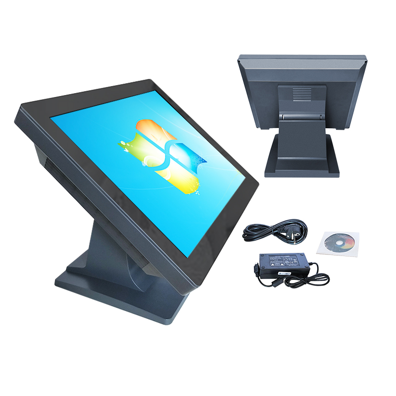 15 Inch All In One Touch Screen POS Tablet PC With Intel D525 With Wifi