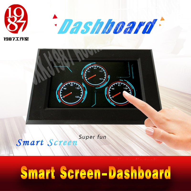 Escape Room Adventurer Game Prop Dashboard Prop Smart Screen Adjust Three Dashboard To Right Degrees Password To Unlock JXKJ1987