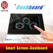 Escape room adventurer game prop dashboard prop smart screen adjust three dashboard to right degrees password to unlock JXKJ1987