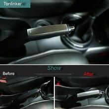 Tonlinker чехол наклейка s для Mitsubishi ASX 2013-17 1 шт. автомобильный Стайлинг из нержавеющей стали чехол для ручного тормоза наклейка