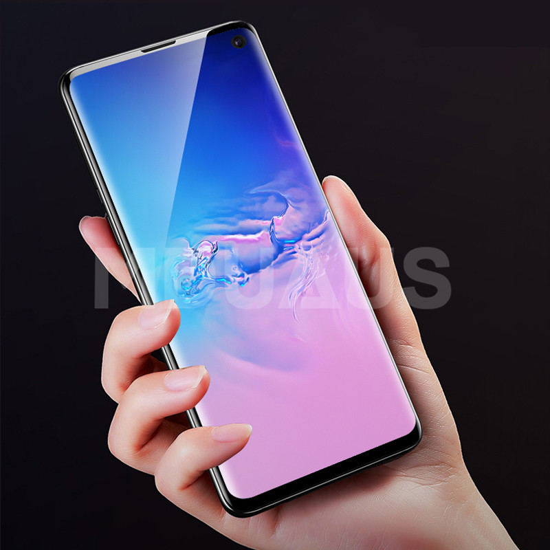 20D Full Cover Screen Protector Film For Samsung Galaxy S10 S9 S8 Plus S10e Note 8 9 A6 A8 2018 Soft Protective Film Not Glass