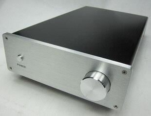 Boîtier de bricolage 183*60*300mm plein châssis amplificateur en aluminium (adapté pour amplificateur TDA7293 TDA7294 LM3886)/amplificateur