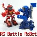 Бесплатная Доставка! новый 2013 Уникальный Kid Игрушка Дистанционного Управления rc Кумитэ Робот Battrobottoys молодежь FSWB