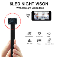 Mini Wifi Cam 1080P Camcorder Mini Camera Security Surveillance Night Vision 2.4G RF Remote Control Infrared DIY Camera
