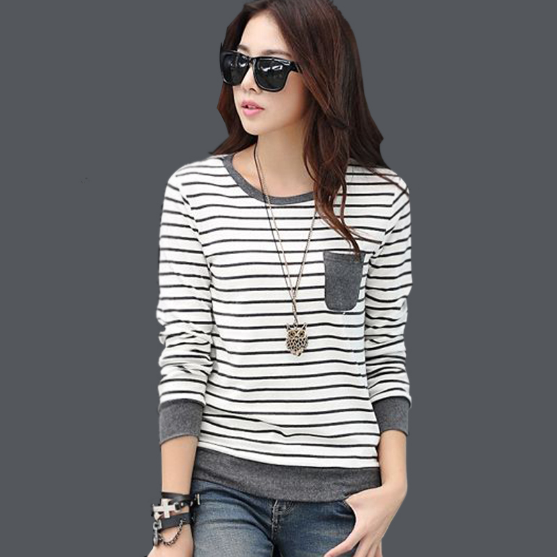 buy vetement femme woman clothes womens long sleeve tops casual 2016 winter. Black Bedroom Furniture Sets. Home Design Ideas