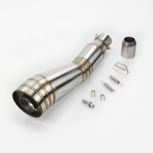 Универсальный 410 мм глушитель из нержавеющей стали трубы с