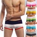 Ropa interior de Los Hombres SEOBEAN Algodón colorido de la manera bajo-cintura cortocircuitos de los boxeadores Sexy