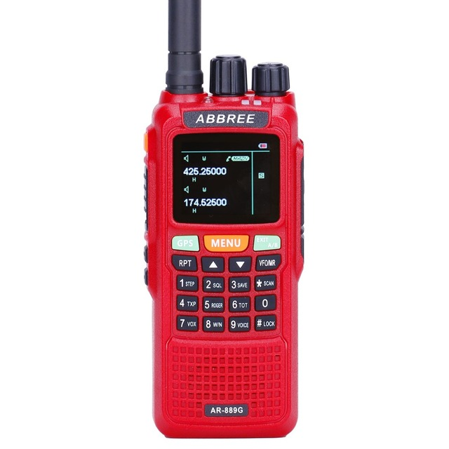 2pcs abbree ar-889g walkie talkie