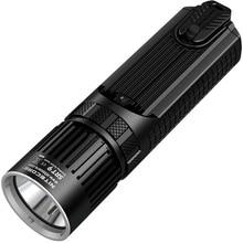NITECORE SRT9 2150 lúmenes Con Rojo/Azul de Advertencia de Luz CREE XHP50 LED Caza Equipo de Represión Militar Linterna Linterna