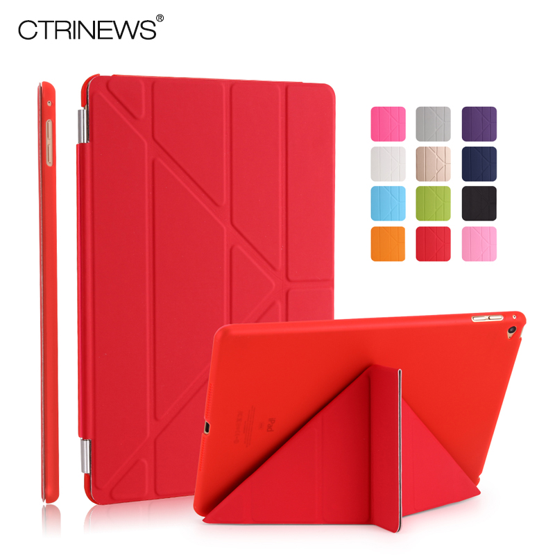 CTRINEWS Smart Case For iPad Mini 4 PU Leather Cover Magnetic Wake Up Sleep Stand Holder for Apple iPad mini 4 Case PC Back sgl luxury ultra smart stand cover for ipad air 1 ipad5 case luxury pu leather cover with sleep wake up function for ipad air1