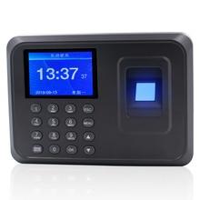 Youku Запись отпечатками пальцев для посещаемости Часы регистраторы сотрудник распознавания устройства голосовые подсказки время работы запись