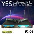 Профессиональные EW545 G2/EW500 G2 UHF Двухканальная Беспроводная Микрофонная Система с Двумя Clear Sound Ручной Микрофон/Free доставка