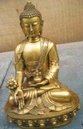 Art Bronze Decoration Crafts Brass Tibet Tibetan brass Medicine Buddha Statue Gong Buddha statueArt Bronze Decoration Crafts Brass Tibet Tibetan brass Medicine Buddha Statue Gong Buddha statue