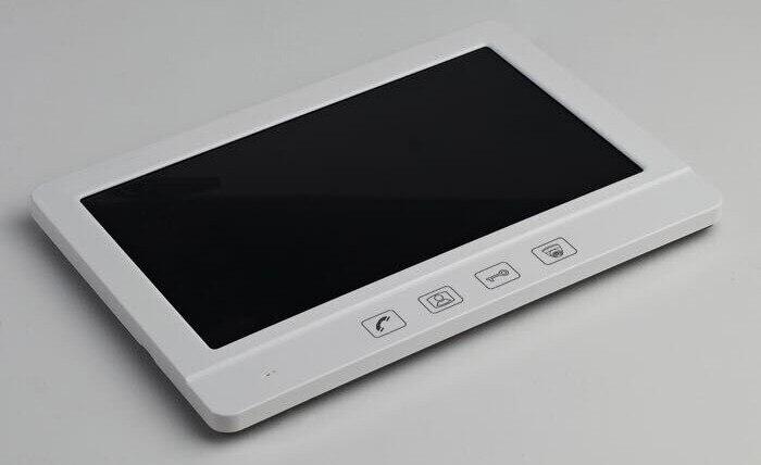 ZHUDELE Internation 10.1 Luxury Video Door Phone Touch Button Doorbell Intercom support CCTV camera IR HD Camera in stock 2V3