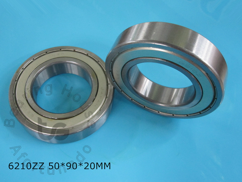 6210 6210ZZ 1Piece bearing 50*90*20(mm) ABEC-5 CHROME STEEL DEEP GROOVE BEARING 6210 6210Z 6210ZZ gcr15 6326 zz or 6326 2rs 130x280x58mm high precision deep groove ball bearings abec 1 p0