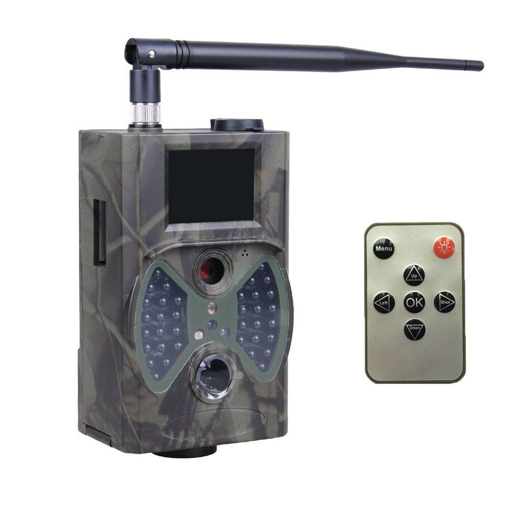 Night Vision 12MP MMS GSM GPRS Email Animal Trail Camera HC300M arduino atmega328p gboard 800 direct factory gsm gprs sim800 quad band development board 7v 23v with gsm gprs bt module