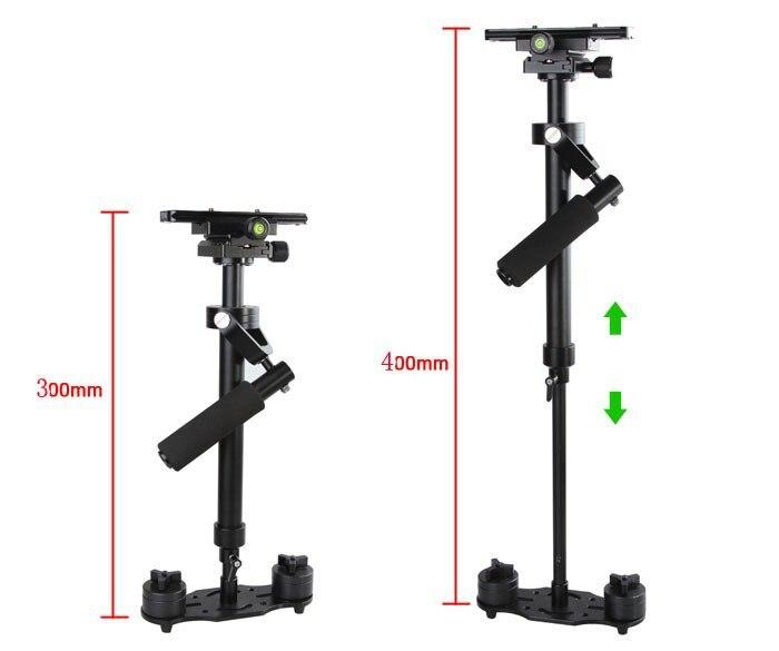 S40 40cm Handheld Stabilizer Steadicam for Camcorder Camera Video DV DSLR High QualityS40 40cm Handheld Stabilizer Steadicam for Camcorder Camera Video DV DSLR High Quality