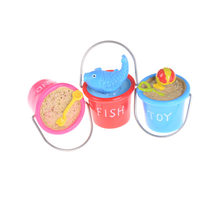 3 Styles Scene 1:12 DIY Mini Sand Beach Buckets Ornaments Dollhouse Miniature Model Toys Dollhouse Accessories Randomly(China)