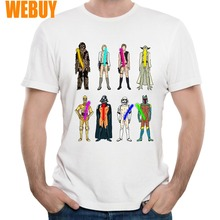 Star wars T-shirt For Male S-6XL Big Size Naughty Lightsabers Hip Hop Man New Design Homme Tee Shirt