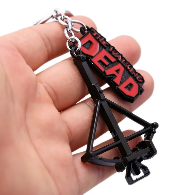 Walking Dead- Metal Crossbow Pendant