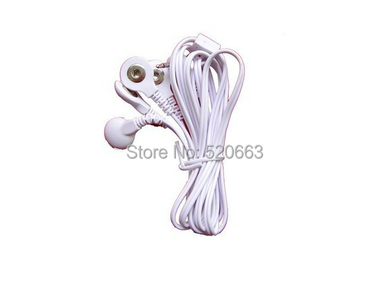 DC 2.5MM 4 in 1 Head electrode wires /cable for digital TENS AcupunctureTherapy therapy machine slimming massager