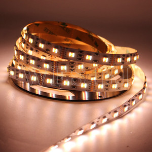 Image 4 - 5M RGBCCT 5IN1 LED Streifen Licht RGB + Weiß + Warm Weiß 60LEDs/m 5050 SMD Dual weiß Temperatur Einstellbar 12MM PCB DC12V/24V