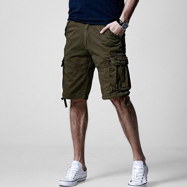 f6c97ea6e15ba pantalones Verano cuadros 2019 a los de pantalones casuales cortos cortos bolsillos  hombres de de moda xAZPwr8AqS