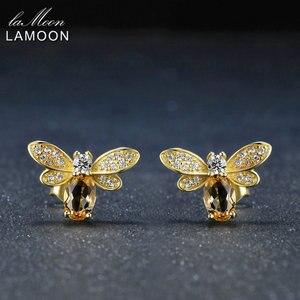 LAMOON Bee Earring For Women 9