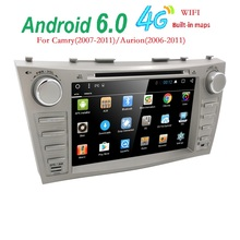 Android 6.0 Quad Core 8″ Car DVD Player For Toyota Camry 2008-2011 GPS Navi Support ipod SD/USB Touch Screen Radio mp3 Bluetooth