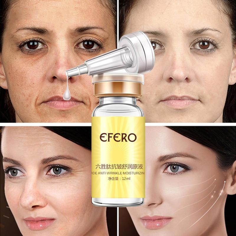efero Argireline Anti Wrinkle Serum for Face Essence Skin Care Anti-Aging Firming Whitening Face Cream Instantly Ageless Beauty 4