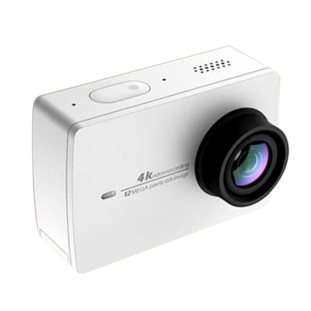 IN STOCK!! New Arrival Xiaomi YI 4K Action Sport Camera Xiaoyi 2 II 2.19 Retina Screen Ambarella A9SE75 12MP 155Wide 1400mAh EIS