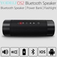 Yodeli OS2 Portable Wireless Bluetooth Speaker Mini Outdoor Column Box Loudspeaker Stereo Music Player with LED Flashlight FM TF