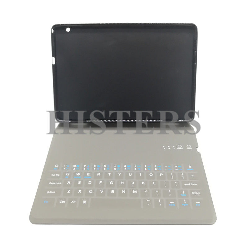 Ultra-Slim Bluetooth Keyboard For Huawei Mediapad T5 10.0 AGS2-W09/L09/L03/W19 Transformer PU Leather Stand Case TPU Back Cover