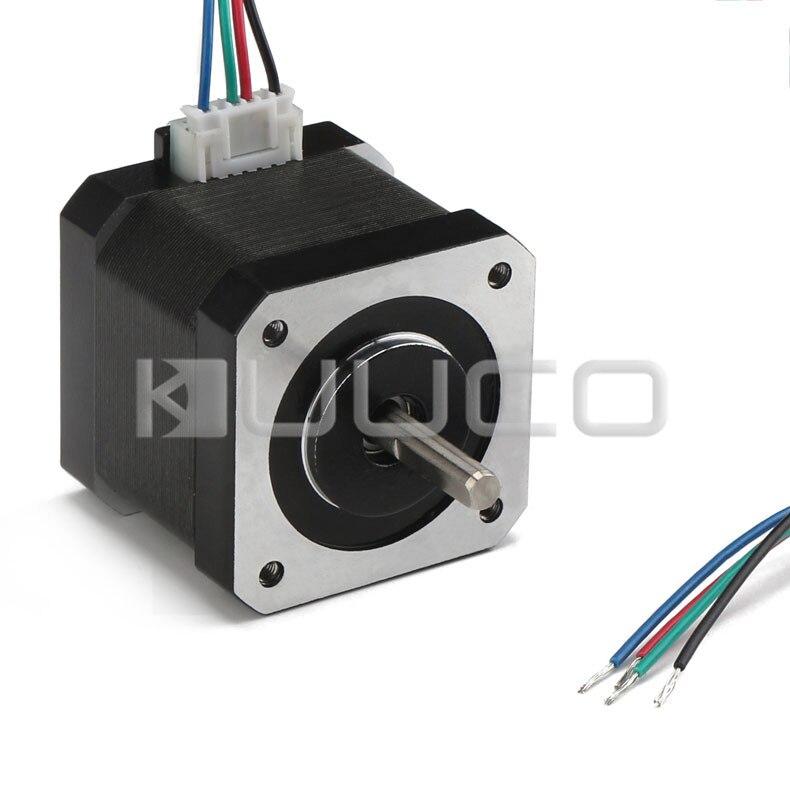 цена на High Torque Bipolar Stepper Motor 42 Stepper Motor 2-Phrase Universal DC Motor for 3D printer/laser engraving/Stage lighting etc