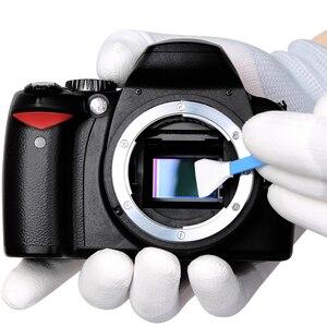 Image 5 - Kit découvillons de nettoyage de capteur dappareil photo reflex numérique 12 pièces avec Solution de nettoyage liquide pour appareils photo numériques Nikon Canon Sony APS C