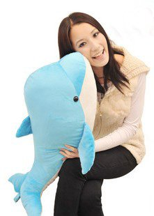 Christmas gift stuffed plush toys dolphin factory supply freeshipping stuffed toys