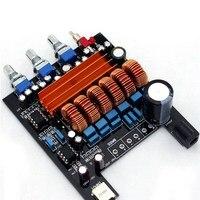 12v 50Wx2 100W TPA3116D2 2 1 HIFI Digital Subwoofer Amplifier Verst Board SA393 T40