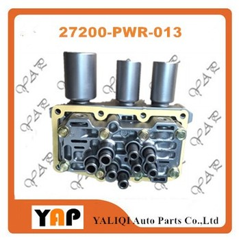 CVT Transmissioขดลวดแม่เหล็กไฟฟ้าวาล์วสำหรับFITHondaพอดี1.5L L4 27200-PWR-013 2003-2008