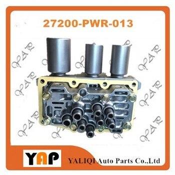 Cvt transmissio電磁弁用fithondaフィット1.5l l4 27200-PWR-013 2003-2008